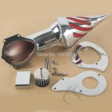 chrome air cleaner intake filter for honda shadow vt600c vlx600