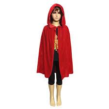 halloween costumes vampire for kids child kids boy hooded velvet cape cloak halloween fancy dress