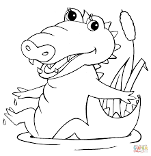 crocodile coloring pages getcoloringpages com
