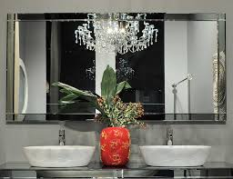 Beveled Bathroom Mirrors by Visionnaire Jupiter High End Italian Bathroom Mirror In Mirror
