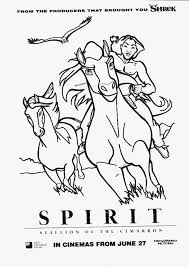 spirit stallion of the cimarron coloring pages to print