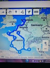 Map My Route Driving by September 2015 U2013 Globetrekker Grandma