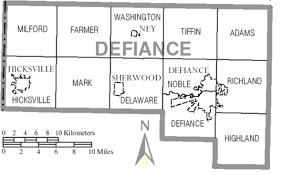 Defiance Ohio Map by Defiance County U2013 Ohio Community Rights Network