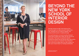 Interior Designer Students For Hire by Full Rebranding Campaign For New York Of Interior Design