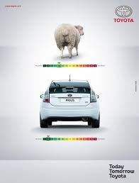 toyota car garage prius sheep comparison toyota prius is less harmful than a pet