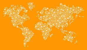 world map vector free free dotted world map vector design template on behance