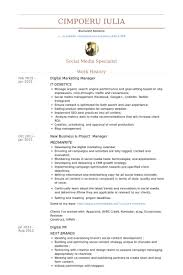digital marketing manager resume samples visualcv resume samples