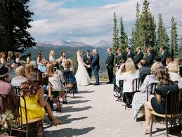 colorado weddings colorado mountain wedding venues kathy and jason solitude station