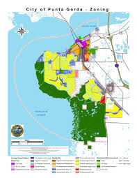 Safety Harbor Florida Map by Zoning Districts City Of Punta Gorda Fl