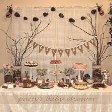 woodland baby shower ideas wonderful woodland baby shower decoration rustic baby shower deer