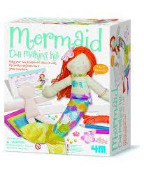 4m mermaid doll making kit amazon co uk toys u0026 games