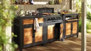 cuisine de jardin en comment concevoir une cuisine d été