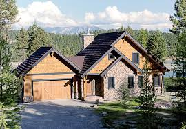 chalet house plans with garage plan at familyhomeplans com home