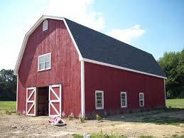 gambrel roof barns gambrel style wood barn kit post and beam barn kit barn building