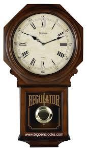 bulova wall clock c3543 ashford