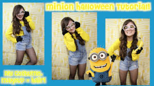 Despicable Minion Costume Diy Minion Halloween Costume Despicable Hunt