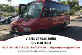 target black friday timetable vargas tours bus timetable 2nd may to 31st october 2017 oncondado