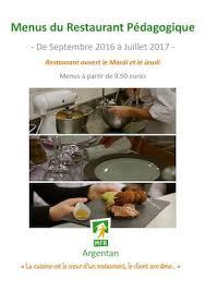 mfr cuisine calaméo restaurant pédagogique mfr argentan 2016 2017