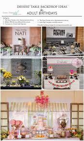 Dessert Table Backdrop by Green Beansie Ink Dessert Table Backdrop Inspiration