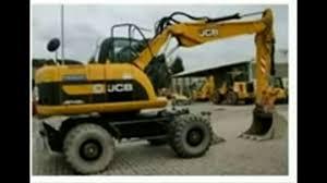 jcb js130w js145w js160w js175w wheeled excavator service repair