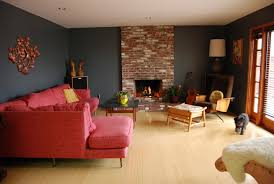 awful mid century living room images ideas orange red vinyl single