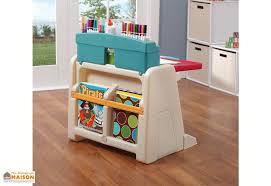 bureau enfant bureau table à dessin 2 en 1 pour enfant step2
