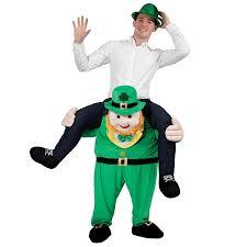 carry me leprechaun costume one size amazon ca