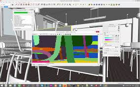 altercad ru sketchup v ray photoshop material id render id
