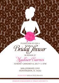 custom bridal shower invitation pick any color combination