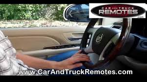 gmc yukon replacement remote programming 2008 2010 youtube