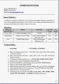 sle resume format for freshers ccna fresher resume sle free 28 images resume format for ccna