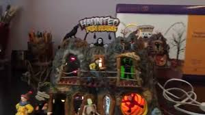 department 56 snow village halloween dept 56 haunted fun house 56 55094 retired halloween