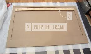 How To Build A Bed Frame And Headboard How To Build A West Elm Knock Upholstered Headboard