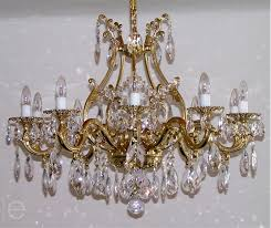 Antique Brass Chandelier Maria Theresa Crystal Chandelier Brass U0026 Strass Chandeliers