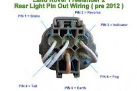 land rover discovery tail light wiring diagram wiring diagrams