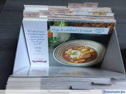 fiches cuisine coffret fiches cuisine la cuisine de cathy a vendre 2ememain be