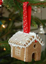 gingerbread house tree ornaments craftstorming