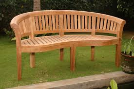 Patio Bench With Storage by Curved Outdoor Bench And Their Features Cool Home Designs