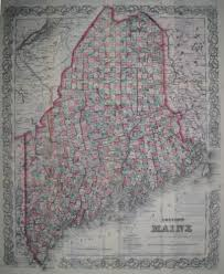 Map Portland Maine by Antique Maps Of Maine
