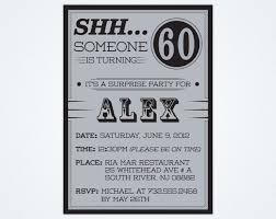 bridal shower invitation cards surprise 60th birthday invitations
