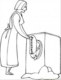 clothes coloring pages washing the clothes coloring page free home appliances coloring