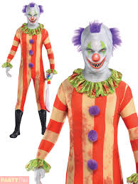 Teen Scary Halloween Costumes Teen Clown Party Suit Costume Boys Child Scary Halloween Fancy