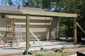 8 X 10 Pergola by How To Build A Pergola In Two Days On A Budget Detailed How To