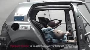 si e auto crash test bambini in auto rialzo o seggiolino il crash test è impressionante