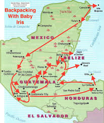 Map De Central America by The Thing With Taking Your Baby With You U2014 Pudding Shop Press