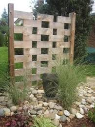 Trellis Screens Screening Fence In 23 Garden Ideas On How To Preserve Privacy