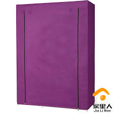 simple dust cloth wardrobe folding wardrobe closet clothes storage