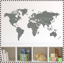 Wall Decals Amazon by World Map Wall Decal Amazon World Map Wall Decal With Pins