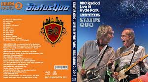 bluray live concert status quo hyde park 2016