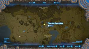 Map The Meal Gap Breath Of The Wild Guide The Great Plateau U0027s Secrets Hidden